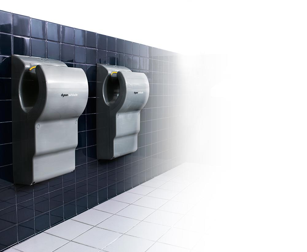 Dyson Airblade dB hand dryers